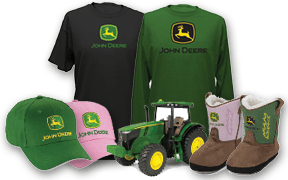 John Deere gifts, hats, toys - TriGreen Tractor