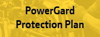 equipment powergard protection service plan