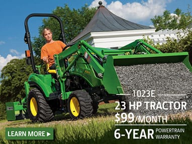 23 hp Tractor on sale for $99 per month