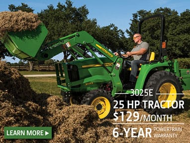 25 hp tractor sale for $129 per month