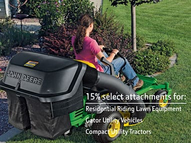 Attachment Specials for Mowers, Gators, and Tractors
