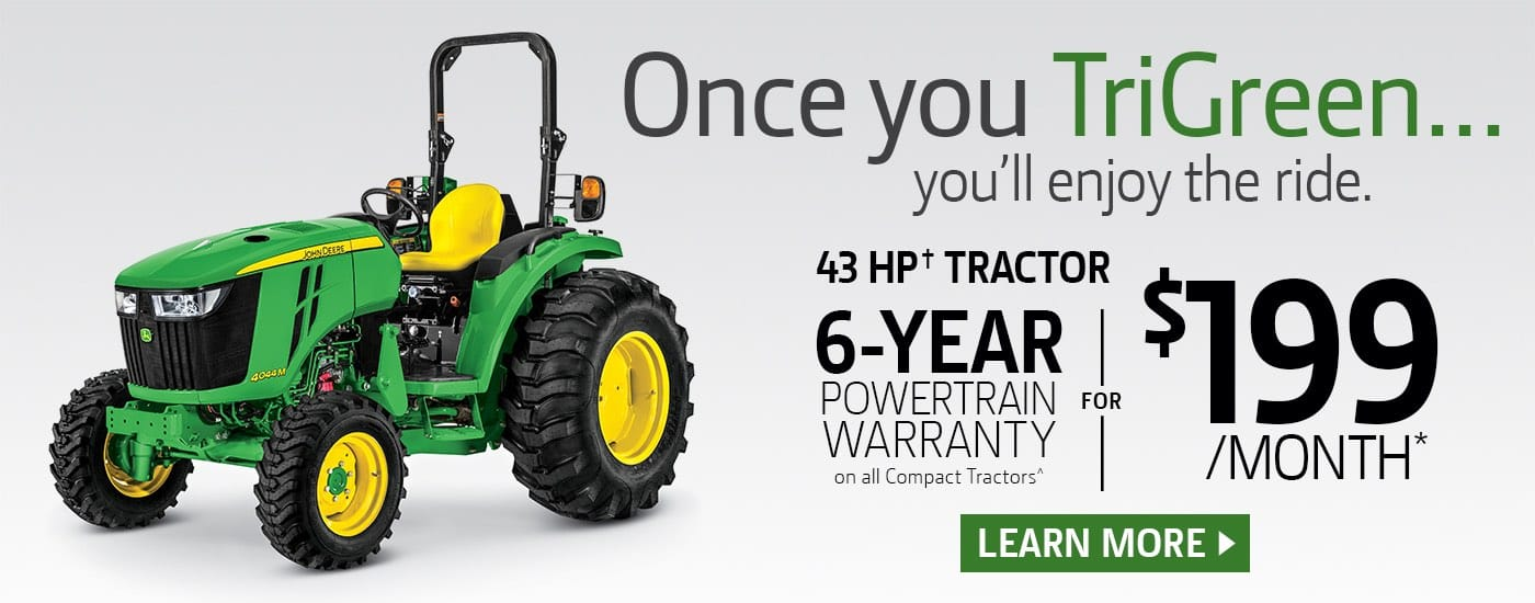John Deere 4044M for $199 a month