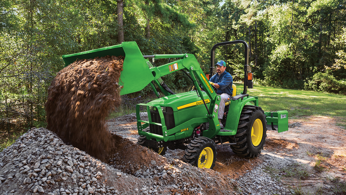 John Deere 25 horsepower tractor package special offer