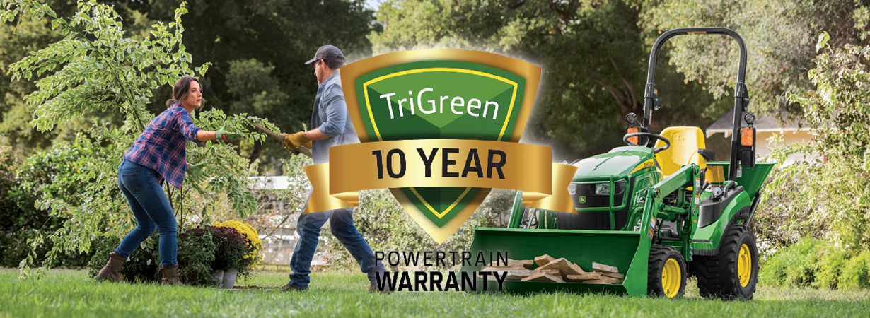 TriGreen Secure 10 Year Warranty