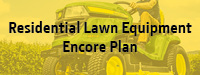 Residential lawn equipment service plan