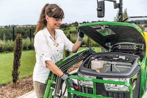 Compact Tractor Daily Maintenance Checklist Trigreen Equipment