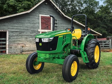 5-Family John Deere small tractor