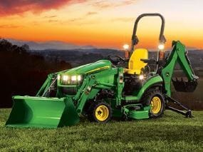 John Deere 25 horsepower utility tractor package special