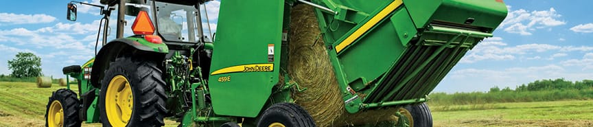 John Deere Select Hay Equipment Special Financing Offer