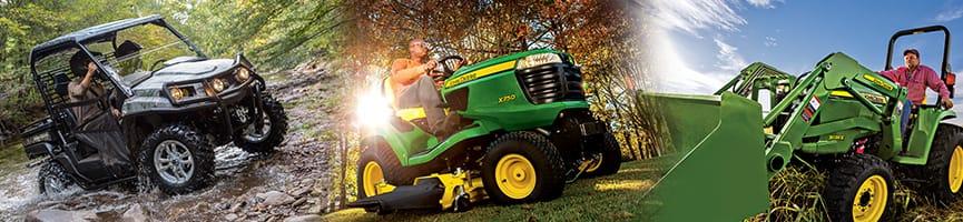 John Deere Tractors, Mowers, Gator Utility Vehicles